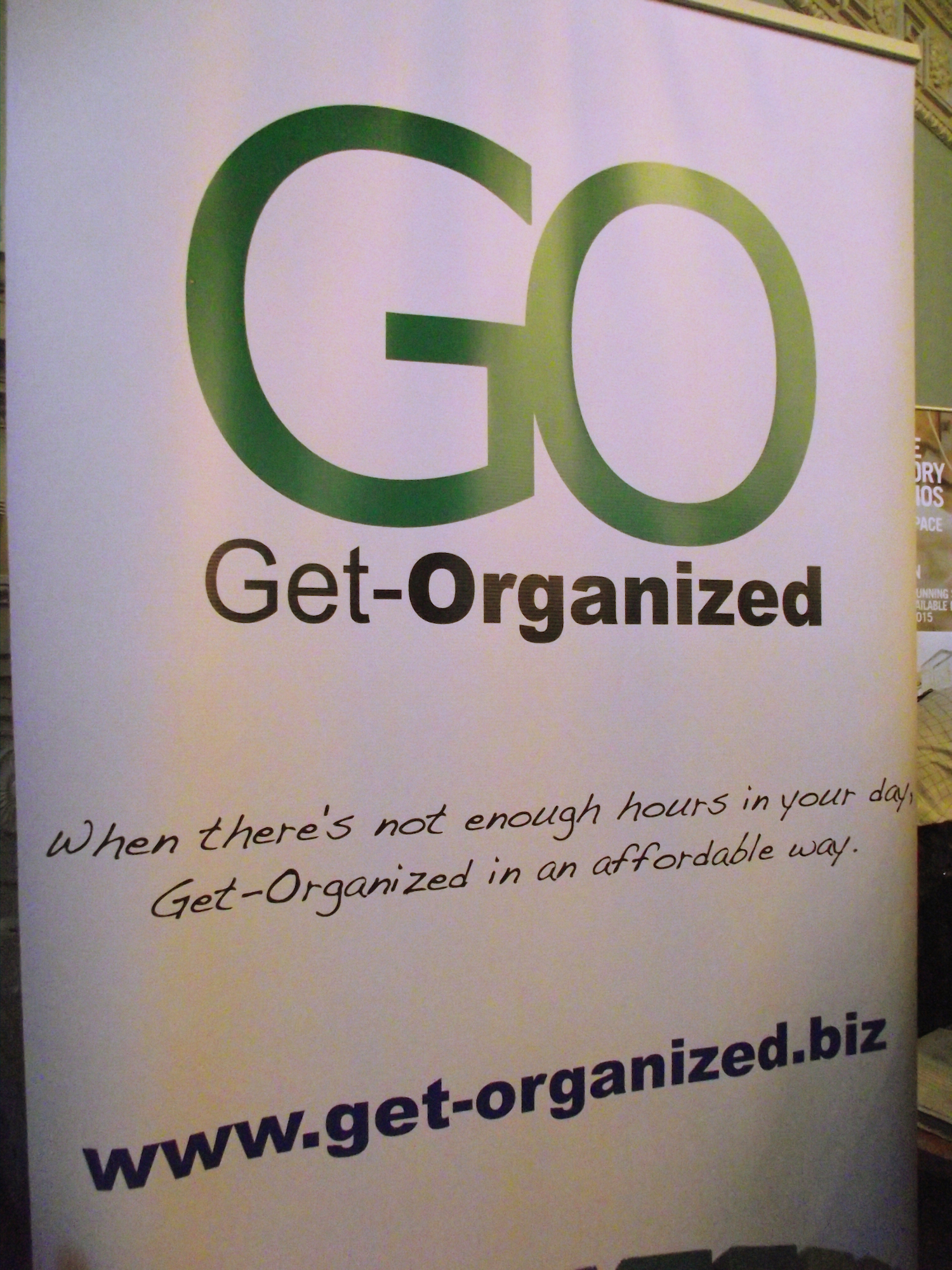Get-Organized at the Bath Business Show!